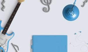 イヤホンと楽器