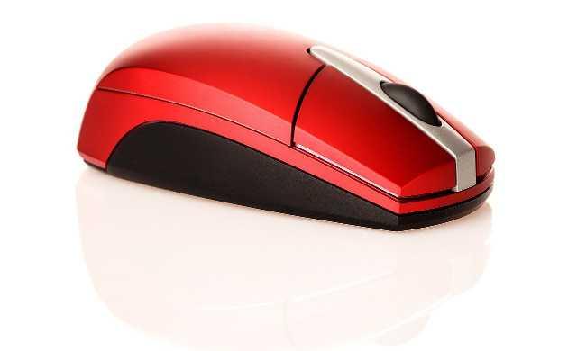 赤いマウス