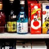 店頭に並ぶ日本酒