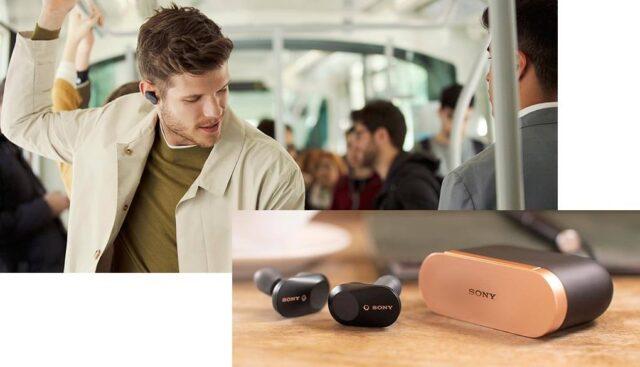 SONY ワイヤレスノイズキャンセリングステレオヘッドセット WF-1000XM3