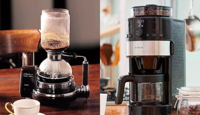ツインバードとシロカのコーヒーメーカー