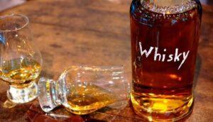 ウイスキーとチョコ