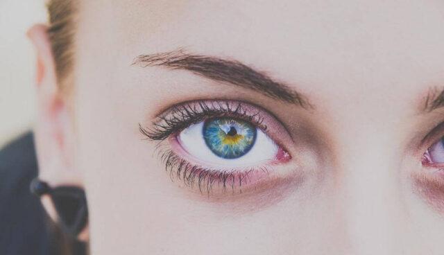 きれいな色の目