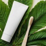自然に配慮した歯ブラシと歯磨き粉