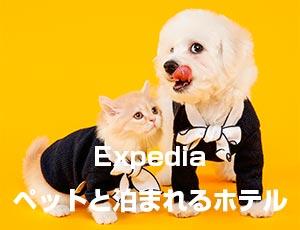 Expedia日本のペットと泊まれるホテル
