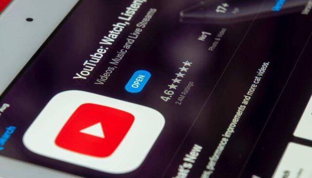 YouTubeアプリ、iphone