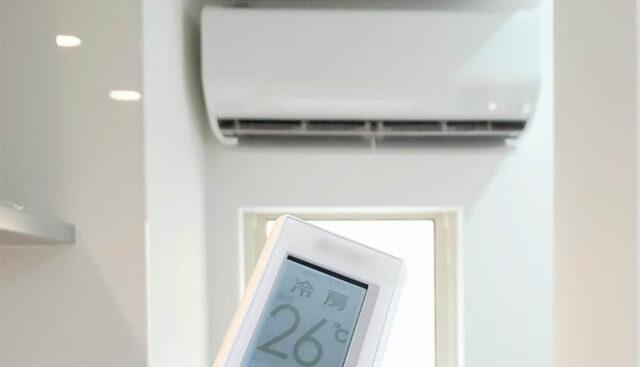 エアコン設定温度26度