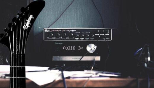 おすすめのギター用オーディオインタフェース7選!