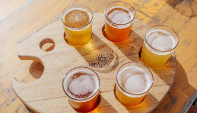 違う種類のクラフトビール